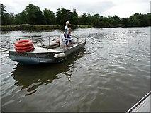 TQ1773 : Ferry to Ham by Christine Johnstone