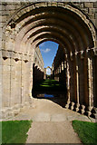 SE2768 : Stone Arch Doorway, Fountains Abbey by Mark Anderson