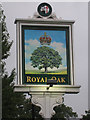 TQ4563 : Royal Oak sign by Oast House Archive