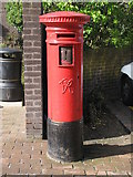 NZ2465 : Victorian postbox, Richardson Road, NE2 by Mike Quinn