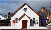 J3472 : Ava Street Pentecostal church, Belfast by Albert Bridge