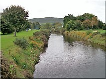 J3731 : The Shimna/Tollymore River at Islands Park by Eric Jones
