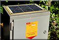 J4580 : Solar panel near Bangor by Albert Bridge