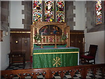 SD5464 : St Paul's Parish Church, Caton-with-Littledale, Altar by Alexander P Kapp