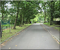 SJ8959 : Entrance to the cemetery by Jonathan Kington
