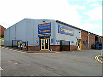ST5393 : City Plumbing Supplies, Chepstow by Jaggery