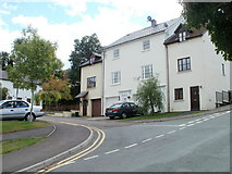 ST5393 : Beaufort Place, Chepstow by Jaggery