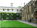 SP5106 : Exeter College, SE corner of quad by Nick Smith