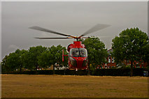 TQ4387 : H E M S - London's Air Ambulance Helicopter by Ian Cranston