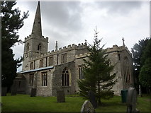 SK7768 : All Saints Church, Weston by Andrew Hill