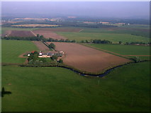 NS4565 : Middleton Farm from the air by Thomas Nugent