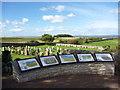 NT4679 : East Lothian Landscape : The Heritage Viewpoint near Aberlady Parish Church by Richard West