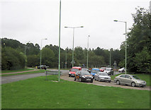 TL8663 : A14 junction 44 road north on A1302 by John Firth
