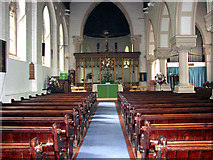 TG2608 : St Andrew's church in Thorpe St Andrew - view east by Evelyn Simak