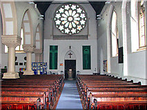 TG2608 : St Andrew's church in Thorpe St Andrew - view west by Evelyn Simak