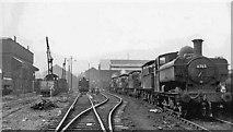 TQ2182 : Old Oak Common Locomotive Depot by Ben Brooksbank