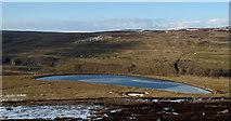 NY9834 : Mine reservoir above Bollihope by Trevor Littlewood