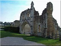 SE7365 : Kirkham Priory Main Entrance by Keith Laverack