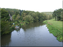 SE7365 : River Derwent at Kirkham Abbey by Keith Laverack