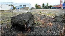 J3475 : Vacant site, Belfast harbour by Albert Bridge