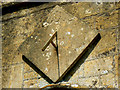 SU1084 : Sundial, St Mary's Church, Lydiard Tregoze, Swindon by Brian Robert Marshall