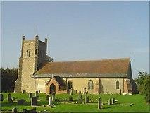 TM4160 : Friston St Mary's church by Adrian S Pye