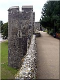 TR1457 : City Walls and Watchtowers, Canterbury by Graham Hogg