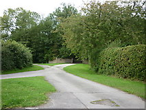 TA0114 : A lane off Middle Barn Hill, Worlaby by Ian S