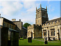 SU1084 : Lydiard House and St Mary's Church, Lydiard Tregoze, Swindon by Brian Robert Marshall