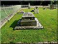 SU1084 : Churchyard and graves, St Mary's Church, Lydiard Tregoze, Swindon by Brian Robert Marshall