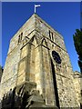NZ1672 : Tower, St Mary's Church, Ponteland by Andrew Curtis