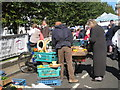 TQ5839 : Stall at Tunbridge Wells Farmers Market by Oast House Archive