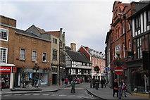 SJ2929 : Cross Street, Oswestry by Bill Boaden