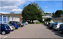 SK8508 : Car park at Catmose College by Andrew Tatlow
