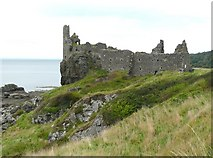 NS2515 : Dunure Castle by Humphrey Bolton