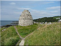NS2515 : Dovecot, Dunure by Humphrey Bolton