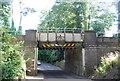 SU8832 : Railway bridge over Sturt Rd (A287) by N Chadwick