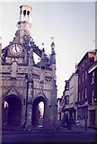 SU8604 : Market Cross and East Street, Chichester, in 1985 by David Gearing