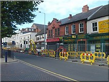 SO9596 : Lichfield Street Roadworks by Gordon Griffiths