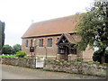 SJ3727 : St Chad's Church Haughton by John Firth