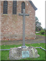 SJ3727 : Cross at St Chad's by John Firth