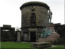 NT2674 : Memorials in Old Calton Burying Ground by M J Richardson
