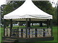 NZ2334 : Bandstand, Whitworth Hall Country Park by Alex McGregor