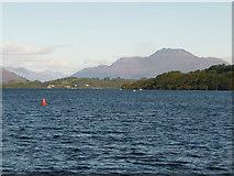 NS3882 : Balloch: view up Loch Lomond by Chris Downer