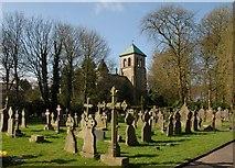 SJ5798 : St. Oswald & St.Edmund Arrowsmith. by Galatas