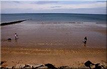 SH8479 : The beach at Rhos-on-Sea by Steve Daniels