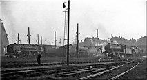 TQ2182 : Willesden Locomotive Depot by Ben Brooksbank