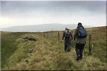 SD6782 : Fence on Crag Hill by Tom Richardson