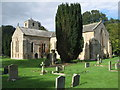NY9166 : The churchyard of St. Michael's Church, Warden (4) by Mike Quinn