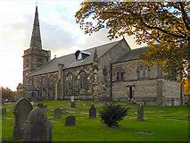 SD3618 : St Cuthbert's Parish Church, Churchtown by David Dixon